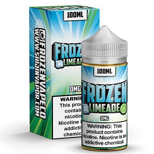 FROZEN VAPE CO. BY SHIJIN VAPOR | Frozen Limeade 100ML eLiquid eJuice SHIJIN VAPOR