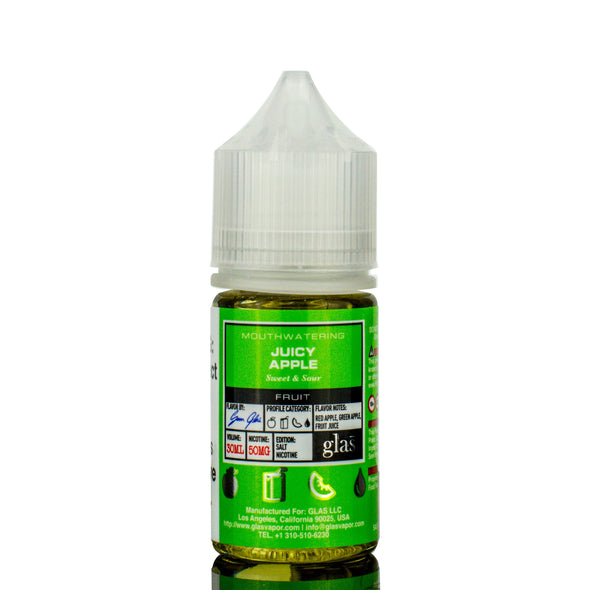GLAS BASIX Nic Salts | Juicy Apple eLiquid eJuice GLAS Vapor