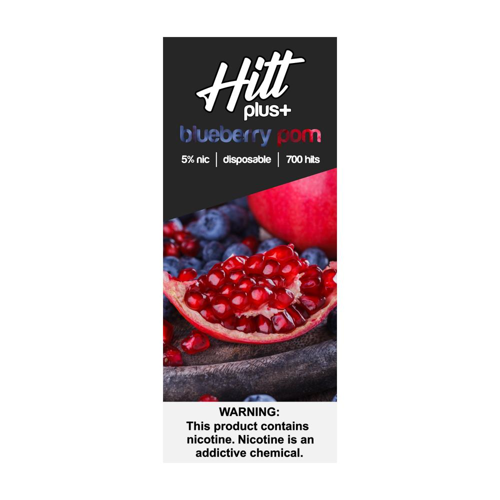HITT | PLUS Disposable E-Cigs - 10 Pack eJuice HittVape