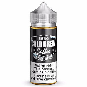 NITRO'S COLD BREW | White Chocolate Mocha 100ML eLiquid eJuice eJUICE Depo