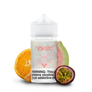 NAKED 100 | Hawaiian Pog Eliquid eJuice Naked 100