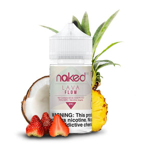 NAKED 100 | Lava Flow Eliquid eJuice Naked 100