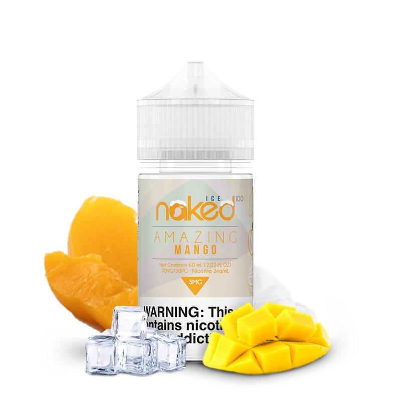 NAKED 100 | Amazing Mango Ice Eliquid eJuice Naked 100