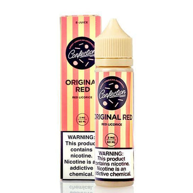 CONFECTION VAPE | Original Red 60ML eLiquid