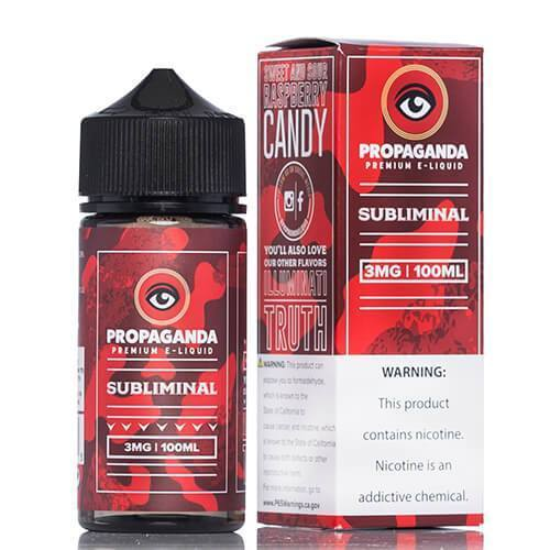 PROPAGANDA | Subliminal 100ML eLiquid eJuice Propaganda