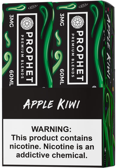 STAY SALTY | Apple Kiwi 120ML eLiquid eJuice Prophet