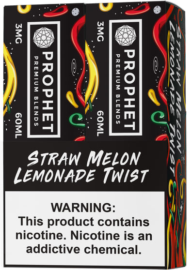 STAY SALTY | Straw Melon Lemonade 120ML eLiquid eJuice Prophet