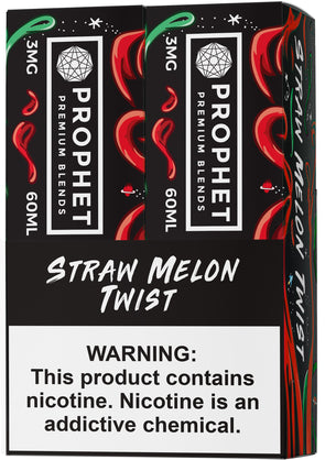 STAY SALTY | Straw Melon Twist 120ML eLiquid eJuice Prophet