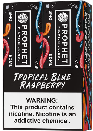 STAY SALTY | Tropical Blue Raspberry 120ML eLiquid eJuice Prophet