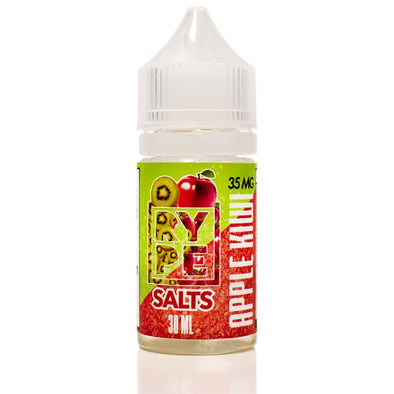 RYPE SALTS | Apple Kiwi 30ML eLiquid eJuice RYPE