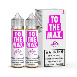 TO THE MAX | APPLE 120ML eLiquid eJuice Flawless