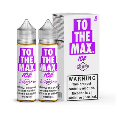 TO THE MAX ICE | GRAPE 120ML eLiquid eJuice Flawless