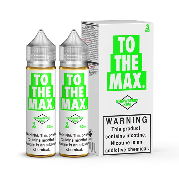 TO THE MAX | Strawberry Kiwi 120ML eLiquid eJuice Flawless