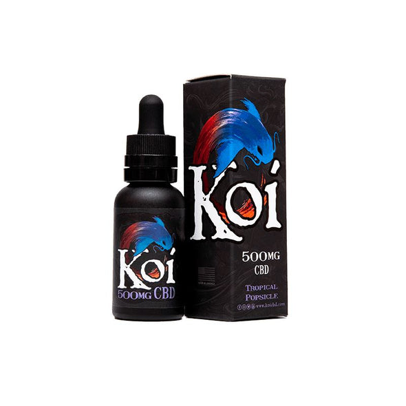 KOI | Tropical Popsicle CBD Vape 30ML CBD Tincture KOI CBD