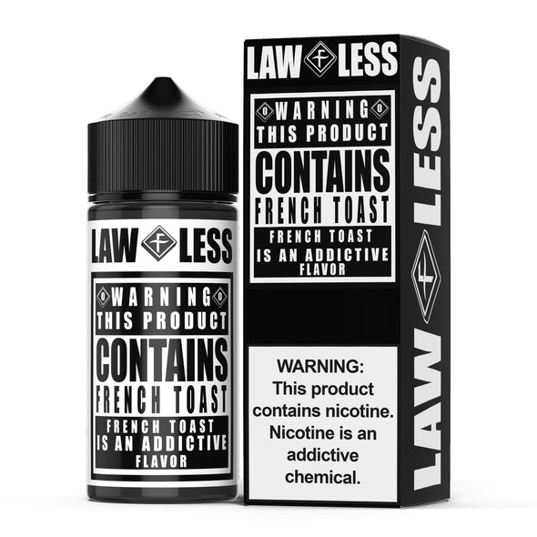 WARNING | French Toast 100ML eLiquid eJuice Flawless