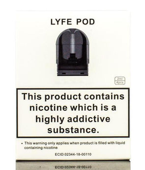AUGVAPE | TUGLYFE Replacement Pods - 4 Pack Accessories Flawless