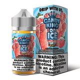 CANDY KING ON ICE | Strawberry Rolls 100ML eLiquid eJuice CANDY KING
