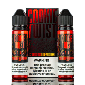 COOKIE TWIST | Strawberry Honey Graham 120ML eLiquid eJuice Lemon Twist