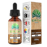 ERTH HEMP | Full Spectrum CBD Oil Extract Pet Drops - Bacon CBD For Pets ERTH HEMP