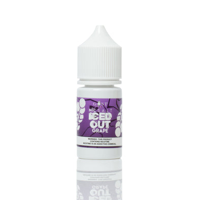 GOST NIC SALT | Iced Out Grape 30ML eLiquid eJuice Gost Vapors