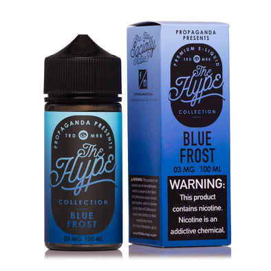 THE HYPE COLLECTION | Blue Frost 100ML eLiquid eJuice Propaganda