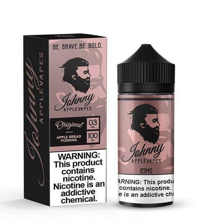 JOHNNY APPLEVAPES | Apple Bread Pudding 100ML eLiquid eJuice Johnny AppleVapes