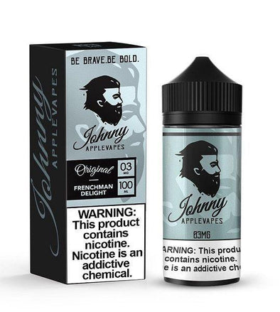 JOHNNY APPLEVAPES | Frenchman Delight 100ML eLiquid eJuice Johnny AppleVapes