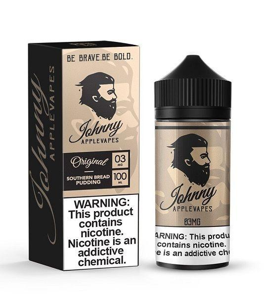 JOHNNY APPLEVAPES | Southern Bread Pudding 100ML eLiquid eJuice Johnny AppleVapes