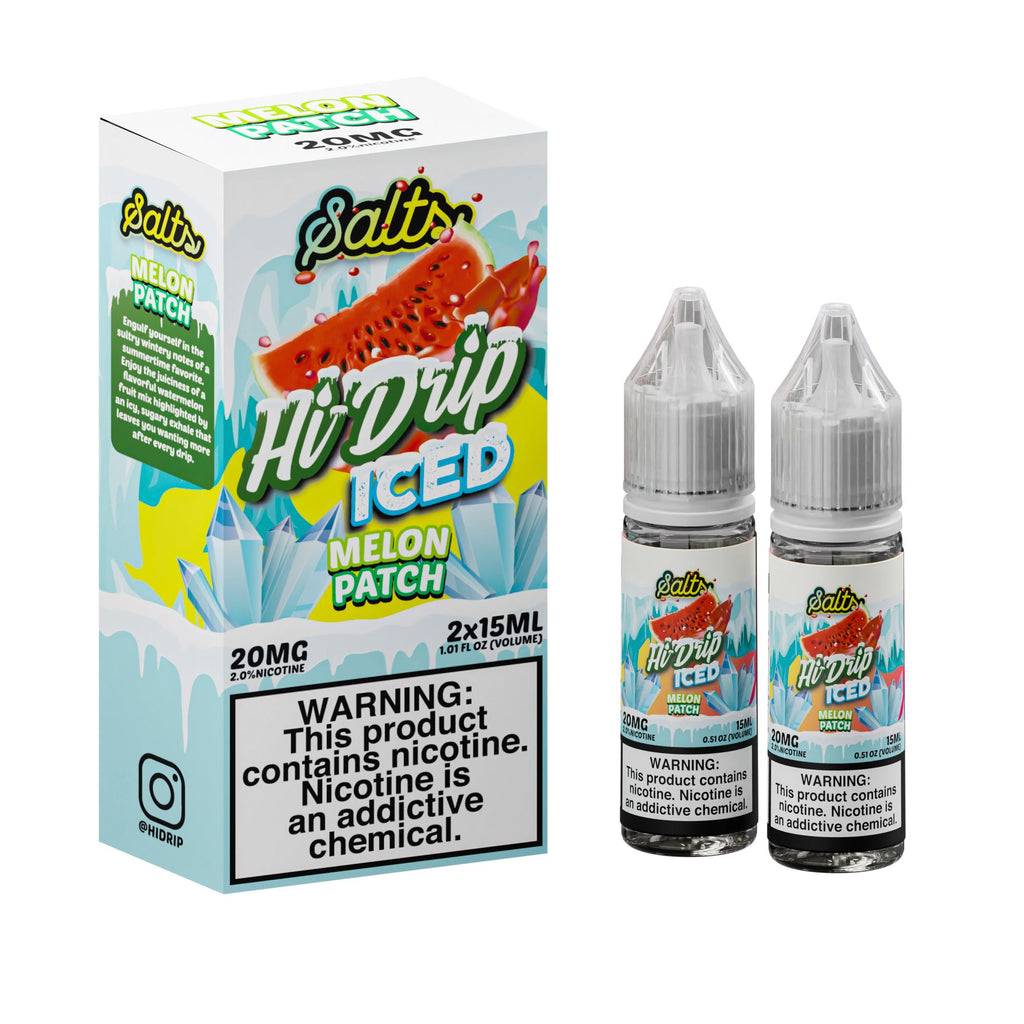 HI DRIP SALTS | Water Melons Iced 2X15ML eLiquid eJuice HI DRIP