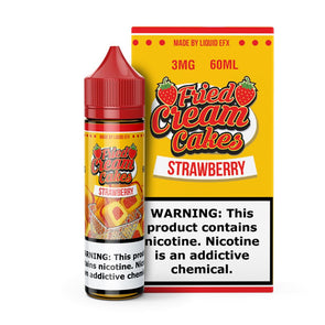 FRIED CREAM CAKES | Strawberry 60ML eLiquid eJuice Liquid EFX