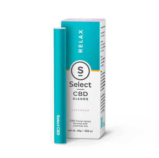 Select CBD Disposable Vape Pens 125MG - 3 Flavors