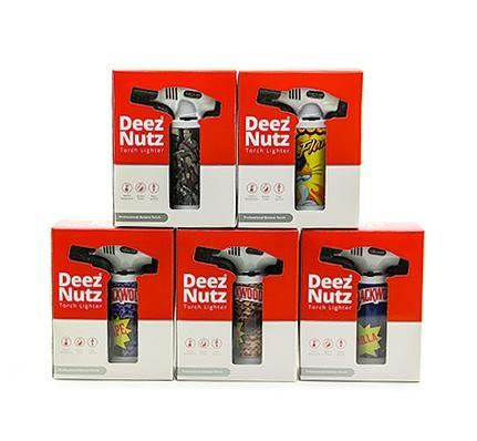 "Deez Nutz 7"" Dab  Torch Assorted Cartoon Designs"