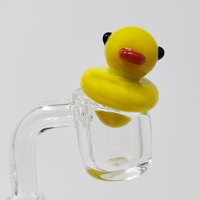 Glass Ducky Carb Cap