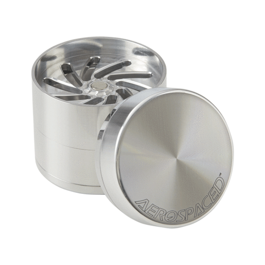 Aerospaced 4 Piece Toothless Grinder by Higher Standards