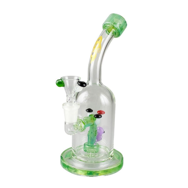 "Apollo Glassworks 9"" 'Tree Froggy' Water Pipe"