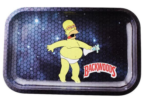 Backwoods Homer In Space Rolling Tray