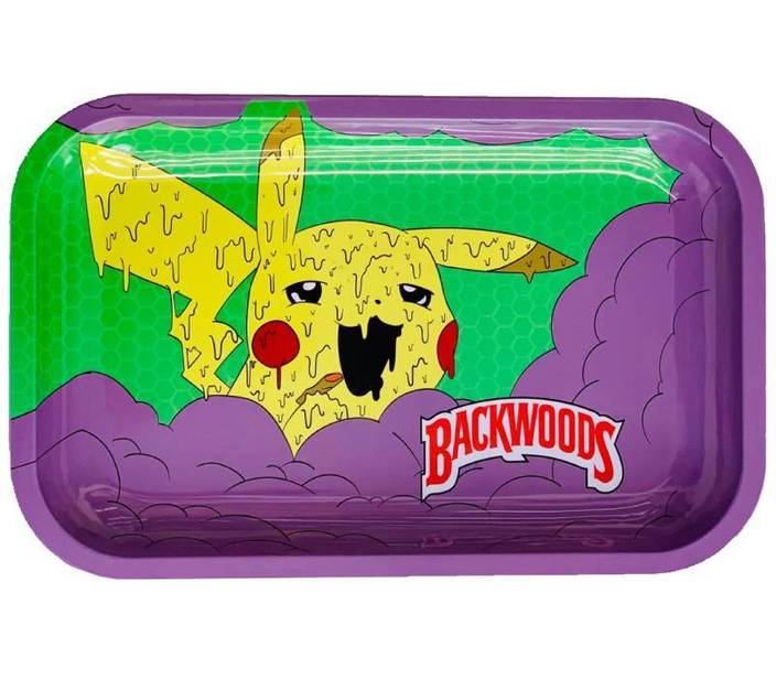Backwoods 'Pika Dab' Rolling Tray