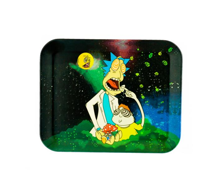 Bamboo Rolling Tray R&M Trippy