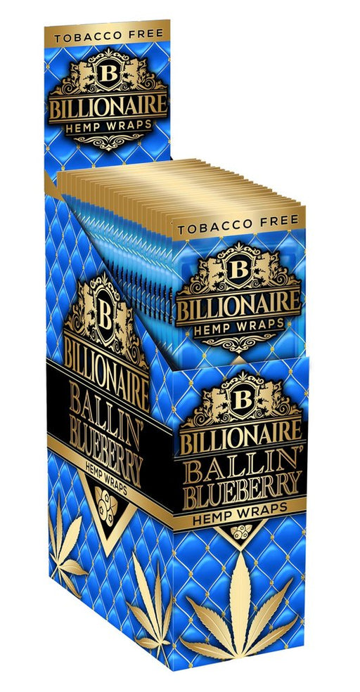 Billionaire Hemp Wraps - Ballin Blueberry