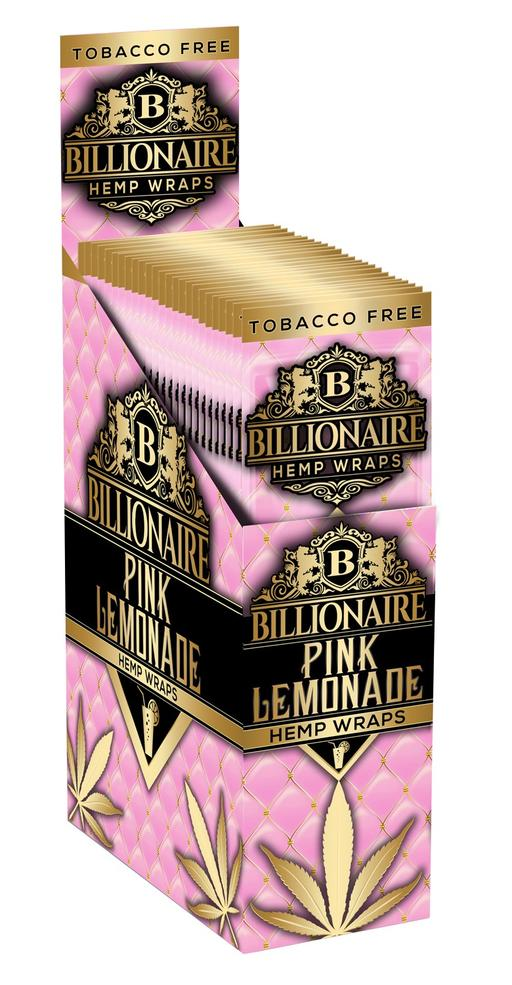 Billionaire Hemp Wraps - Pink Lemonade