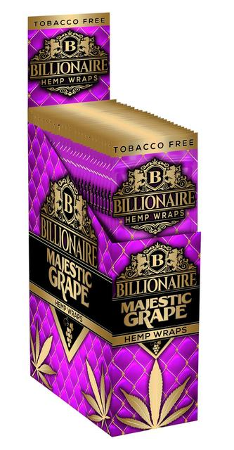 Billionaire Hemp Wraps - White Grape