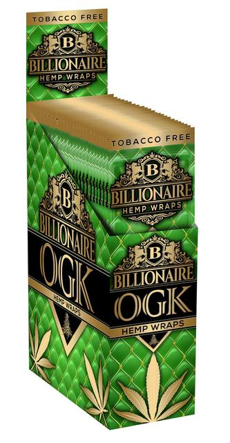 Billionaire Hemp Wraps - OGK