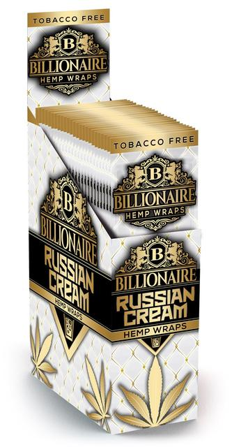 Billionaire Hemp Wraps - Russian Cream