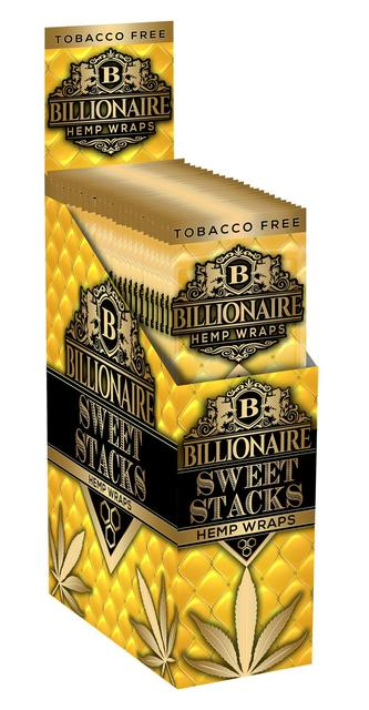 Billionaire Hemp Wraps - Sweet Stacks
