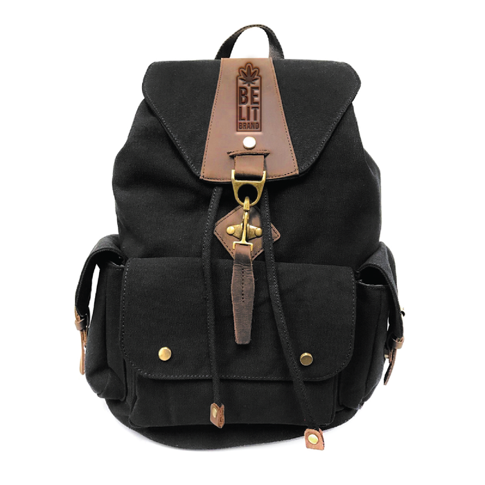 Be Lit Backpack - Midnight Black