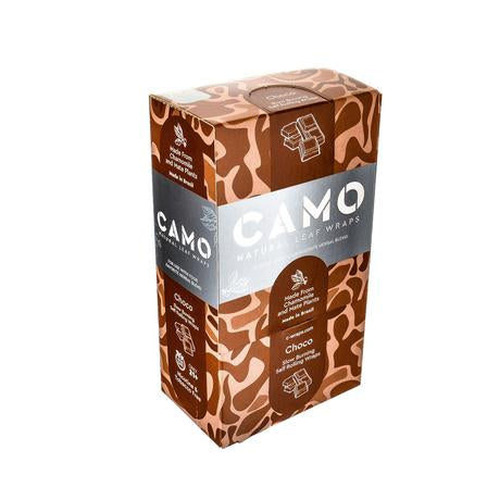 Camo Natural Leaf Rolling Wraps - 6 Flavors