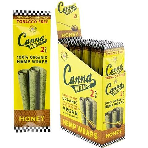 Canna Wraps Terpene Infused Hemp Wrap - Honey