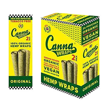 Canna Wraps Terpene Infused Hemp Wrap - Original