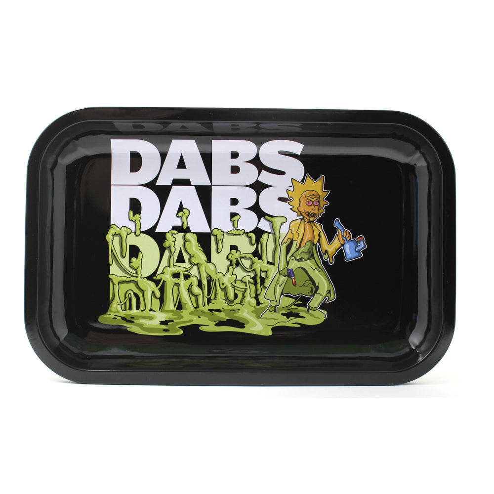 R&M Rolling Tray - Dabs Dabs Dabs