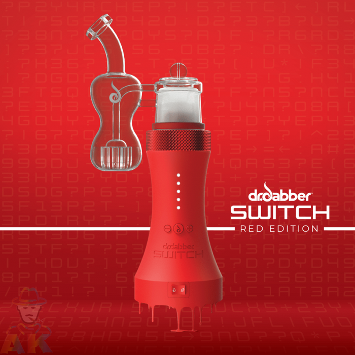 Dr Dabber Switch Vaporizer Red Edition